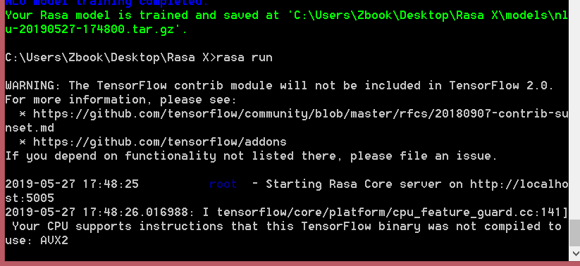 Error_rasa_run